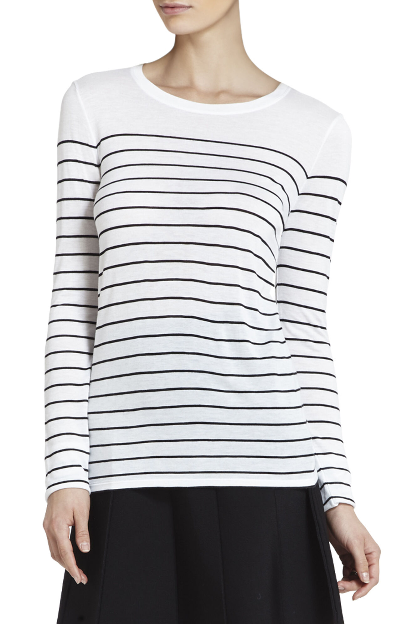 Callan Boatneck Striped Top