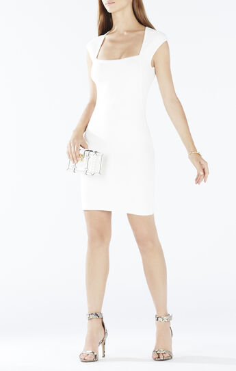Caelan Cap-Sleeve Body-Con Dress