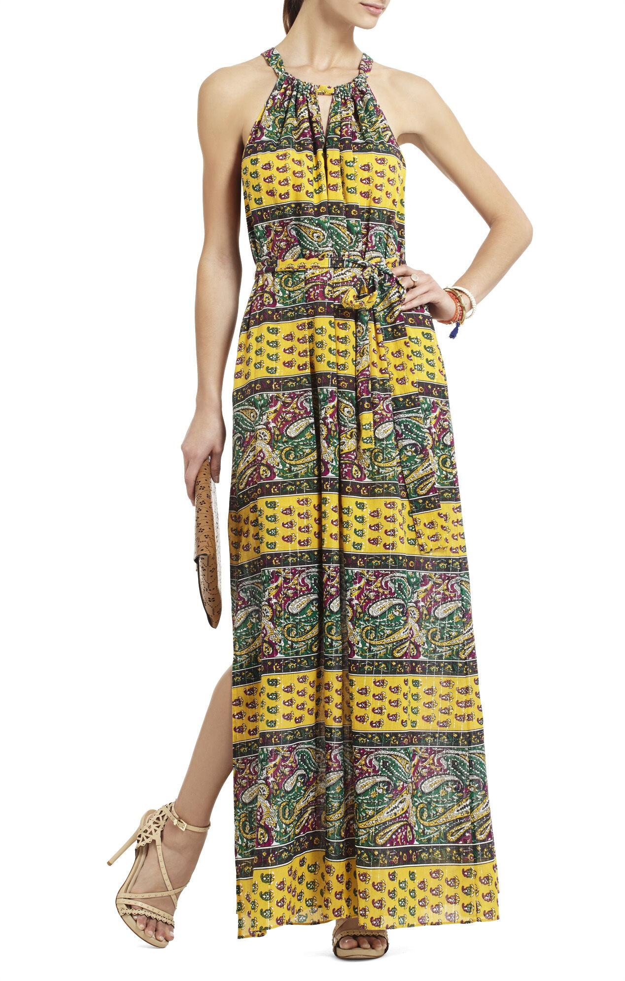 Mia Printed Maxi Dress