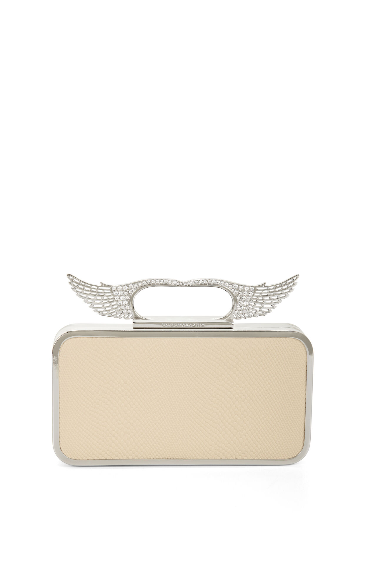 Angel Pave-Wing Knuckle-Duster Clutch