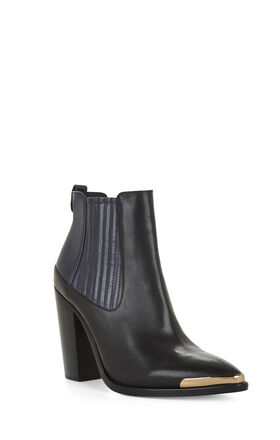 Gerie Metal-Tip Ankle Bootie