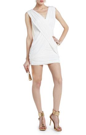 Alondra Gathered Cocktail Dress