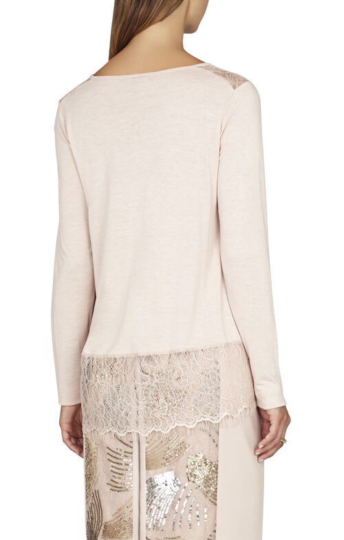 Iana Lace-Trim Top