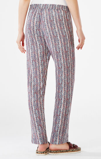 Sebastian Chevron Striped Pant