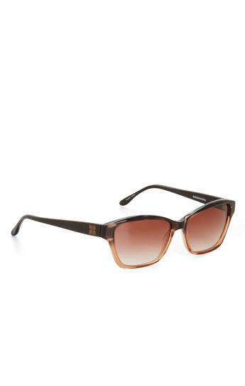 Spirited Color-Blocked Sunglasses