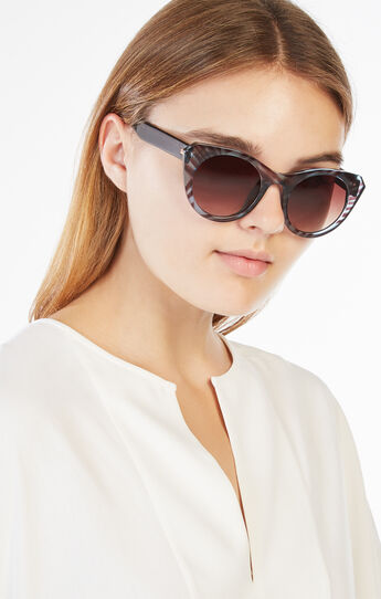 Round Cat-Eye Sunglasses