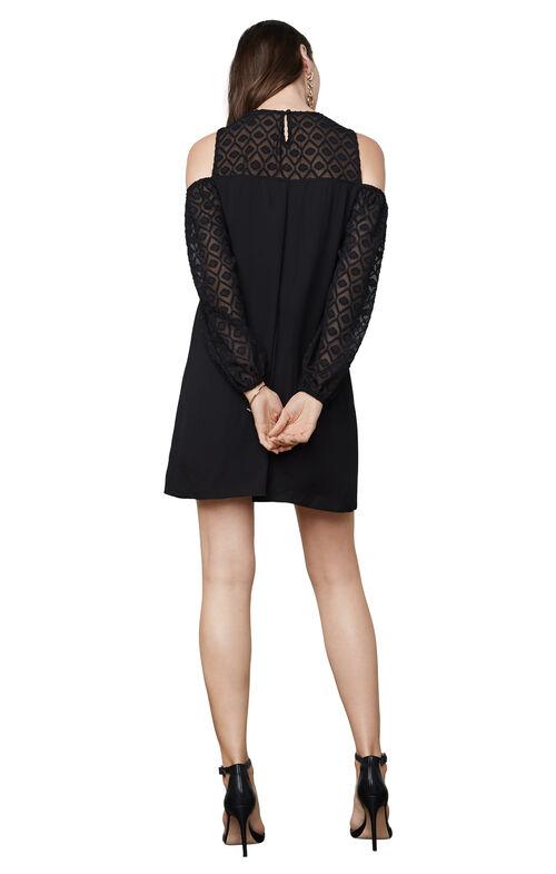 Cherie Cold-Shoulder Dress