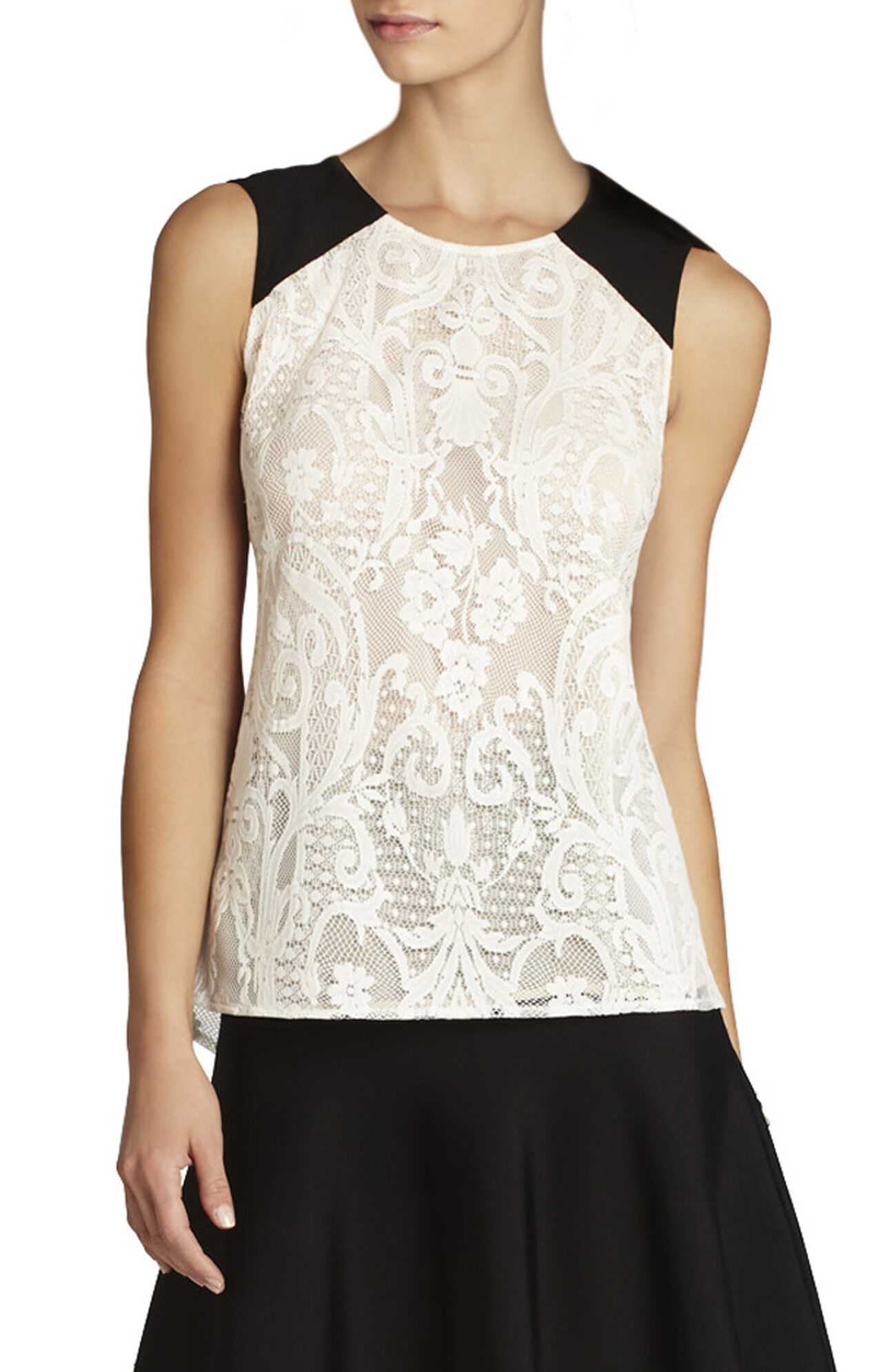 Kaley Sleeveless Lace Top