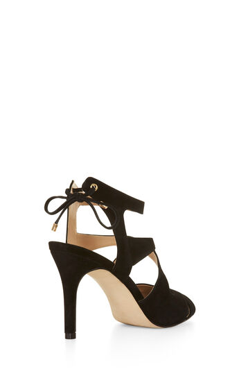 Isobel High-Heel Suede Sandal