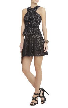 Tara Wrap Peplum Dress
