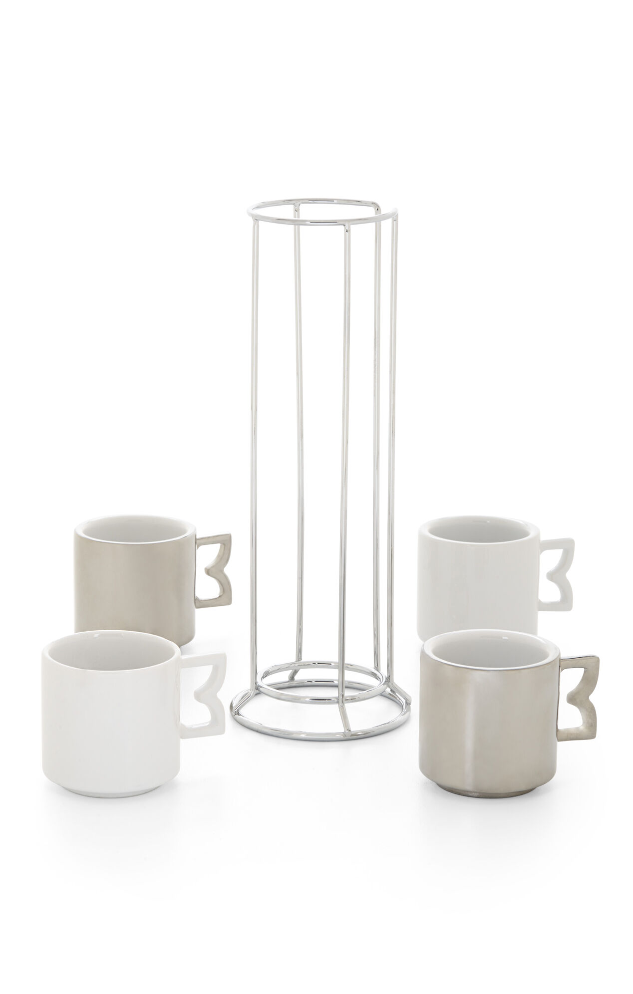 Stackable Espresso Mugs Set