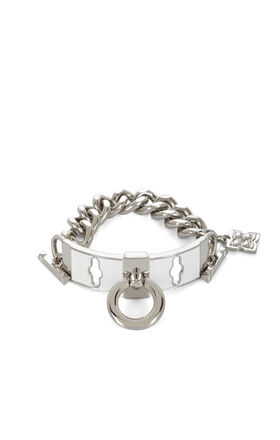 Enamel Toggle Chain Bracelet