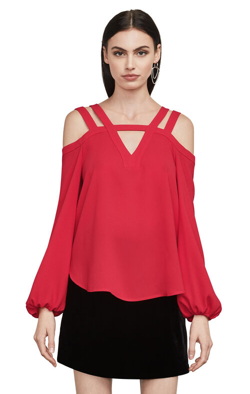 Tina Cold-Shoulder Top