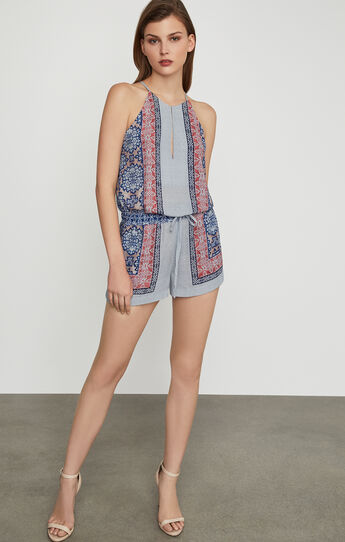 Tyra Blossoms Print Romper