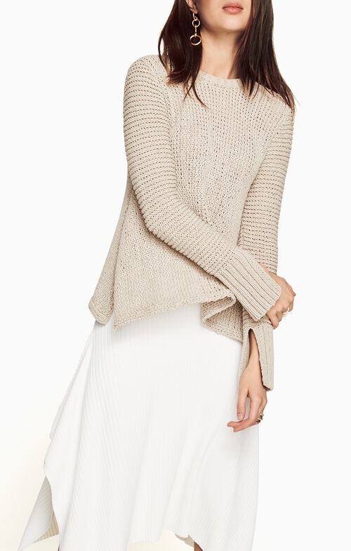 Aubriana Asymmetric Sweater