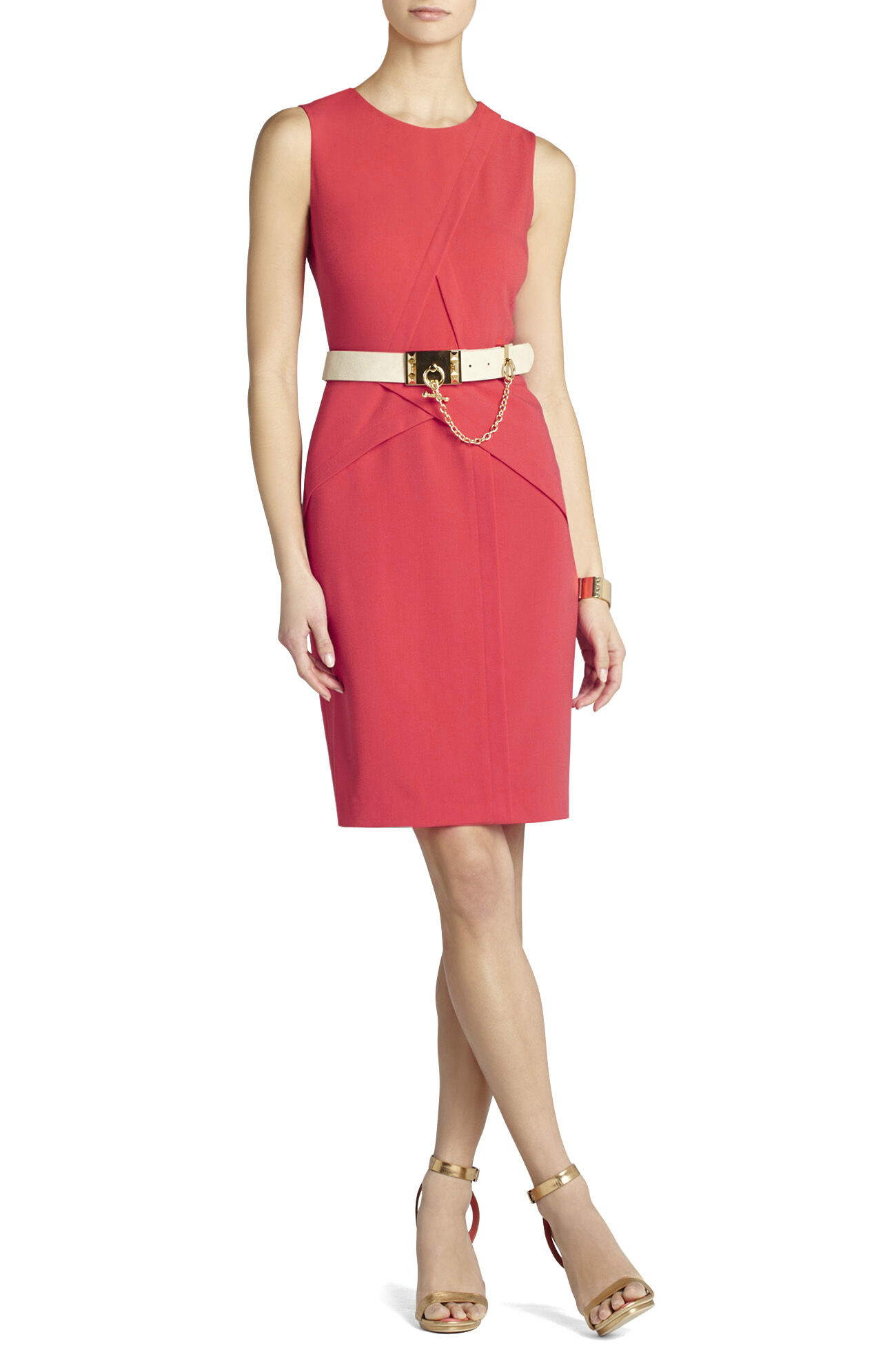 Ida Layered Sheath Dress