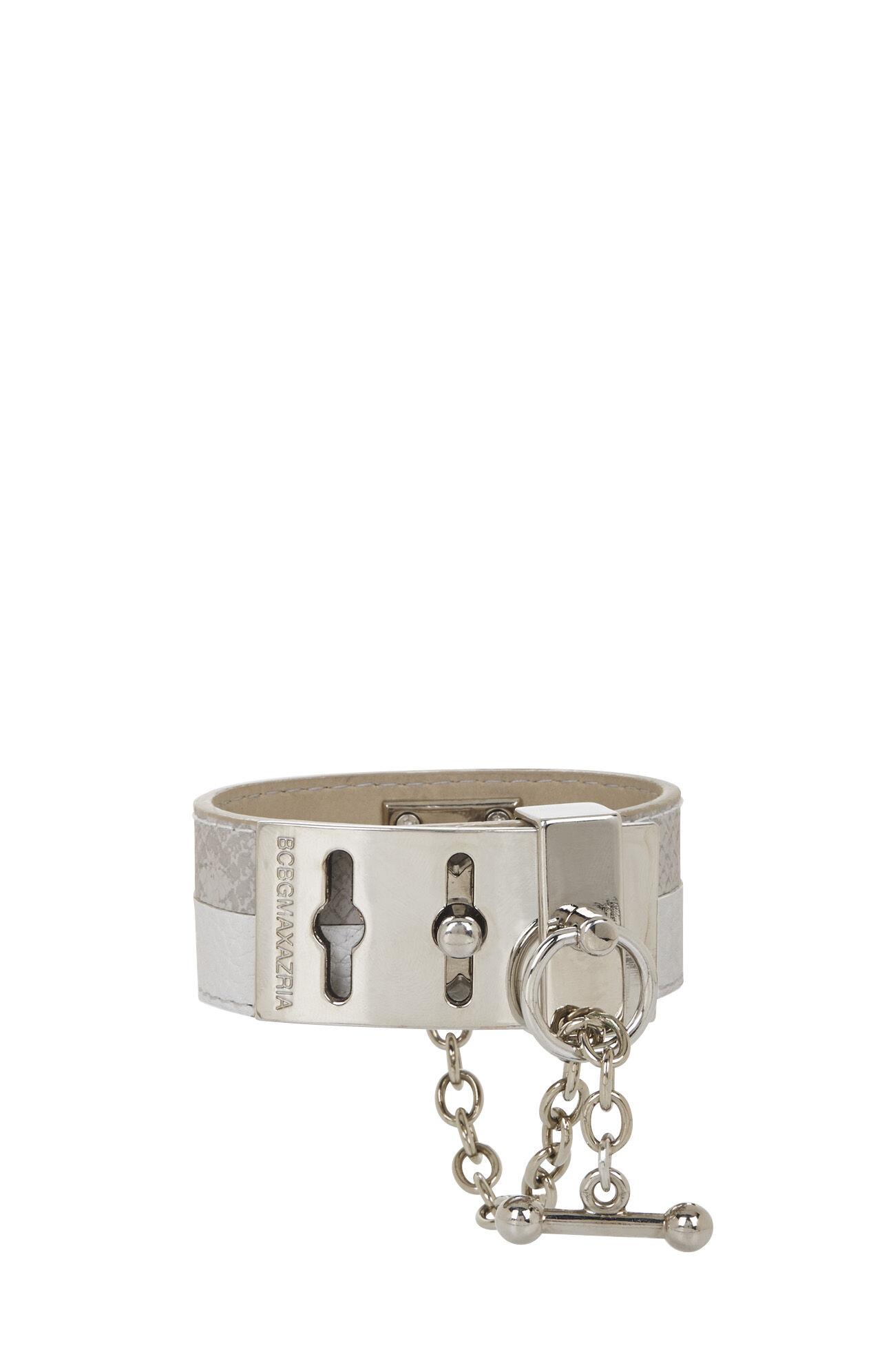 Two-Tone Toggle Bracelet