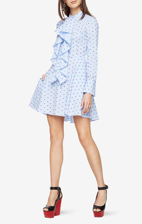Chelsea Dotted Shirt Dress