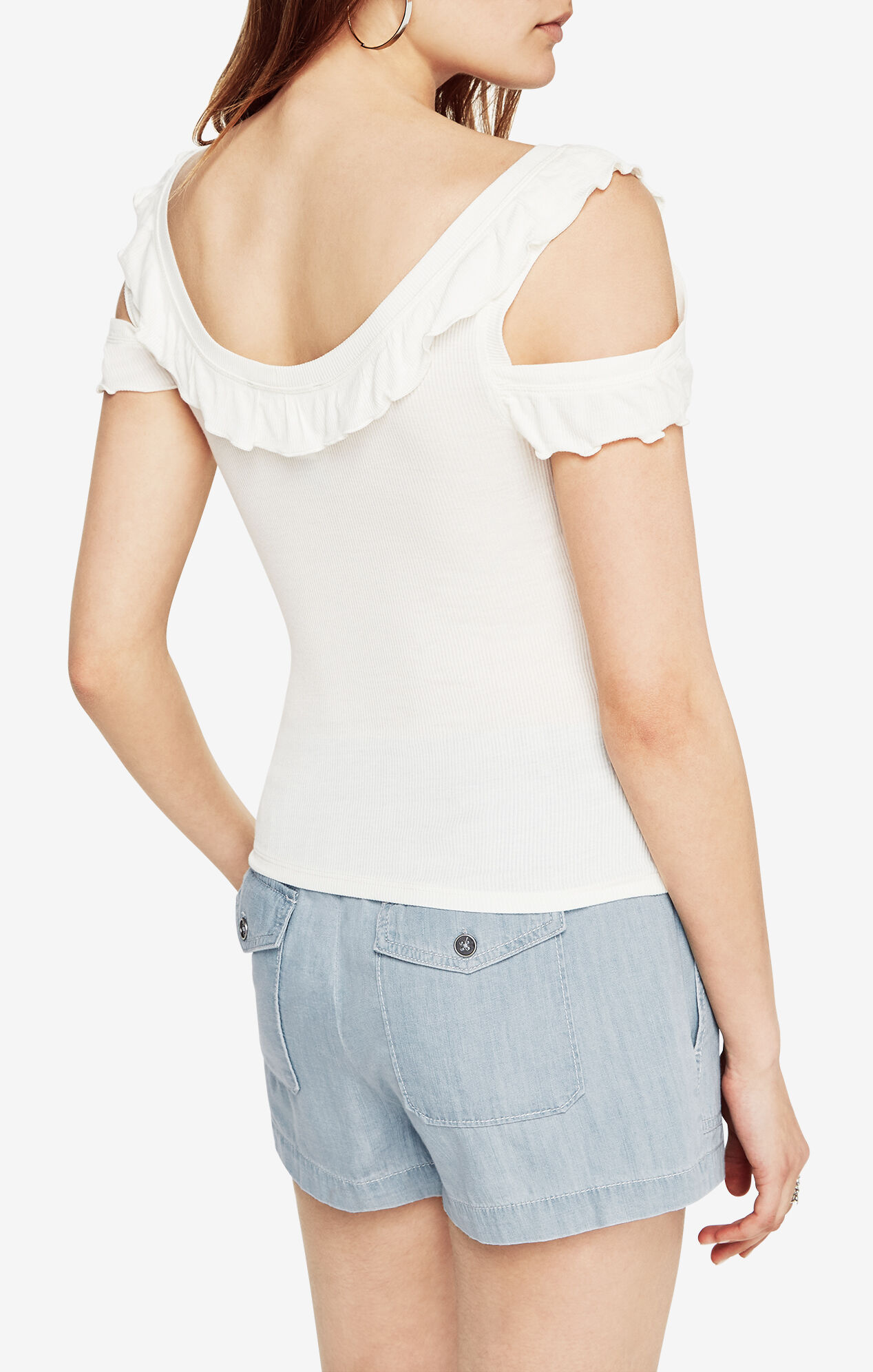 Peri Cold-Shoulder Tank