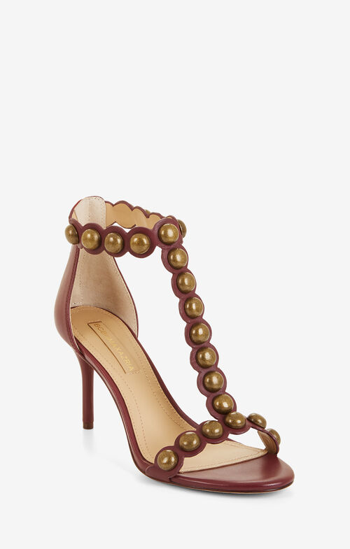 Ankah Studded Leather Sandal
