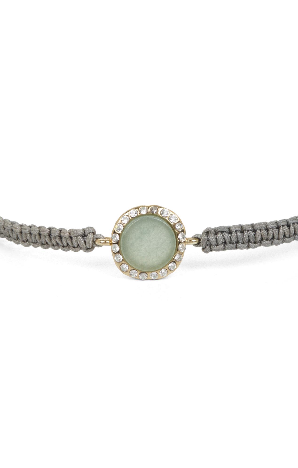 Macrame Natural-Stone Bracelet