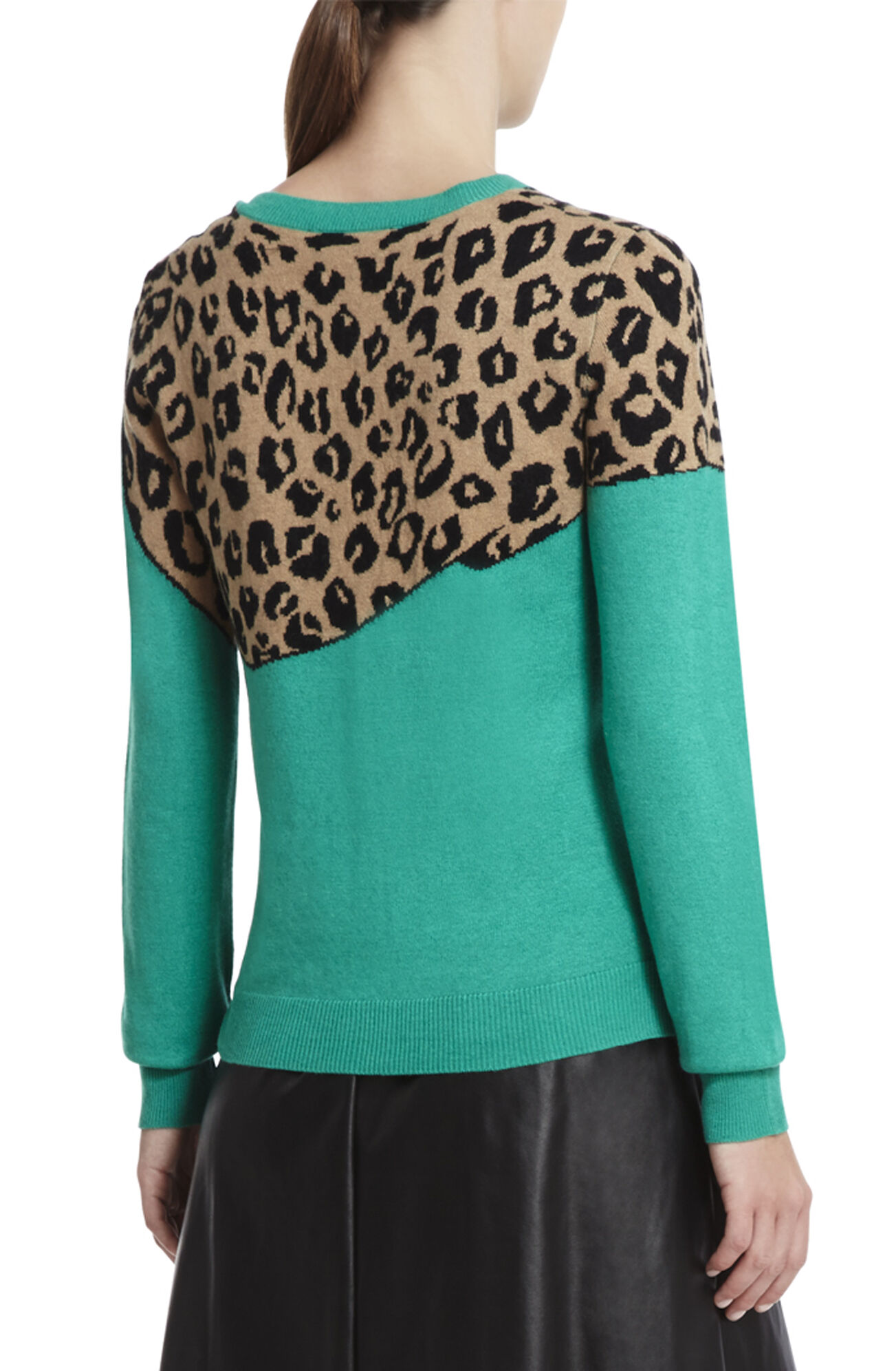 Jaxin Leopard Sweater