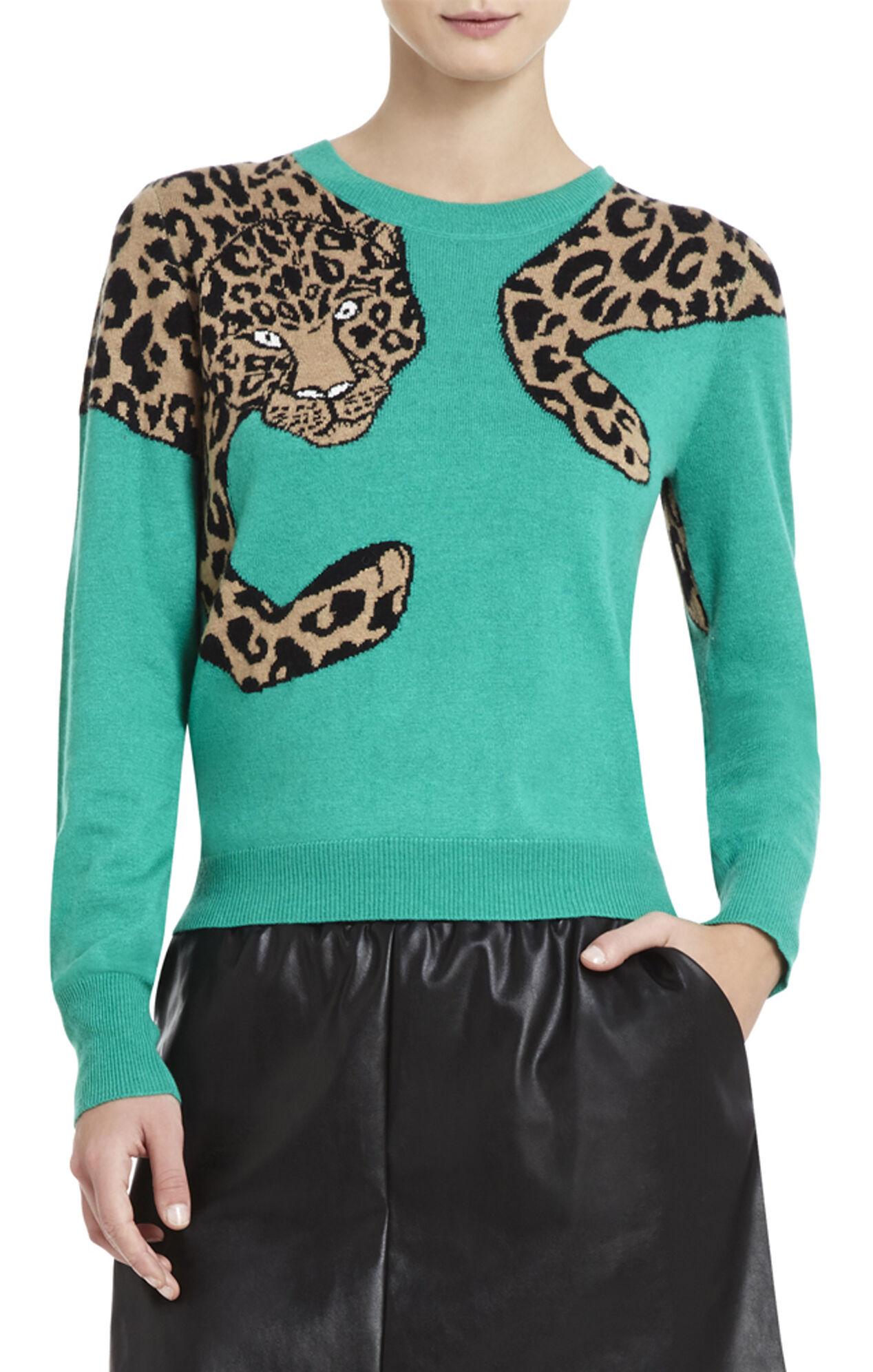 Jaxin Leopard Sweater