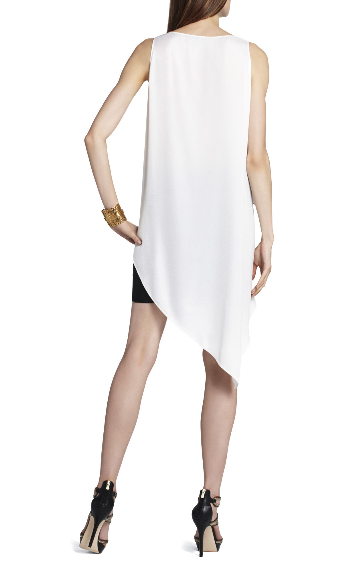 Karlie Tiered Drape Top