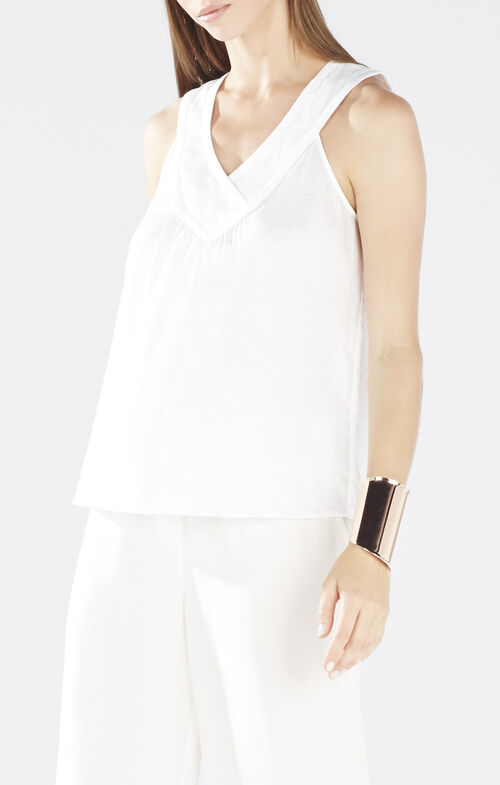 Jovana Crossover Yoke Top