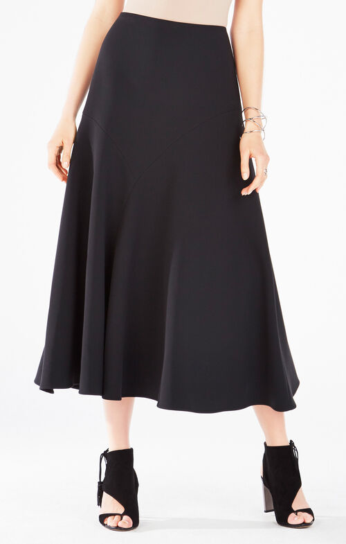 Sacha Asymmetrical Maxi Skirt