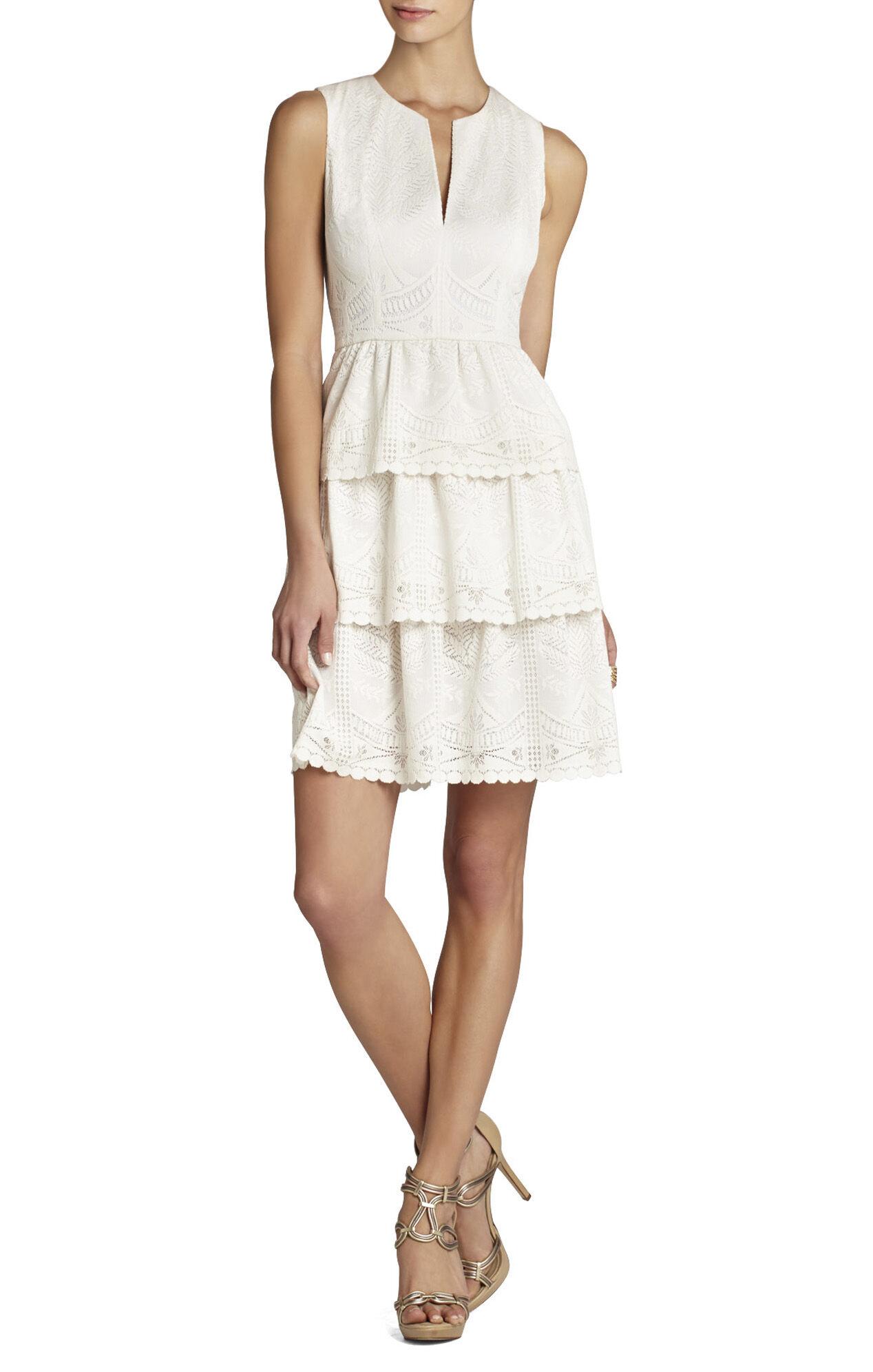 Scarlett Tiered Eyelet Dress