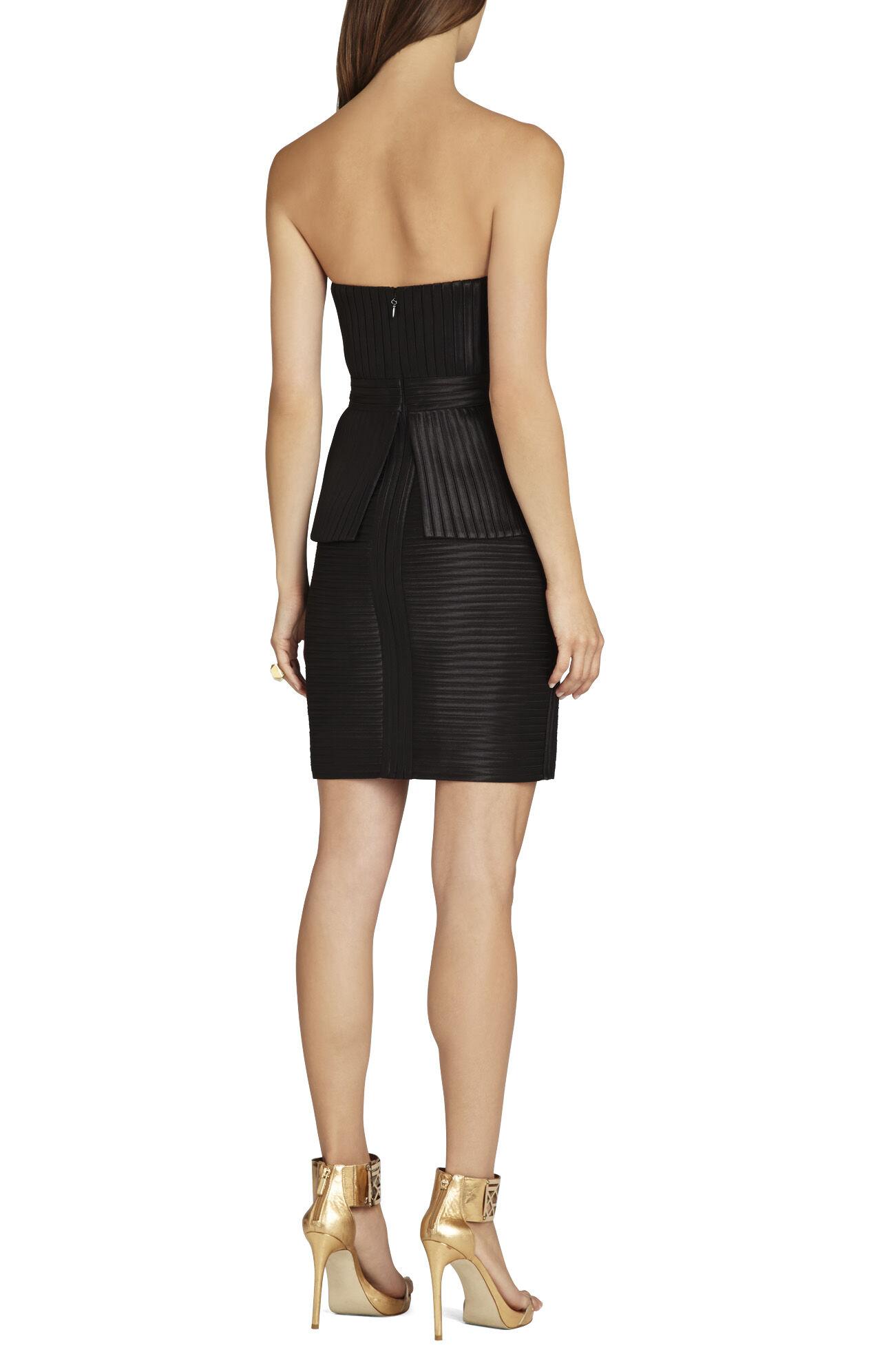 Karina Strapless Peplum Dress