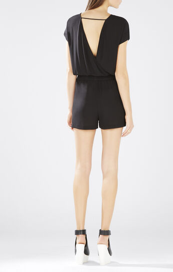 Angella Wrap-Back Romper