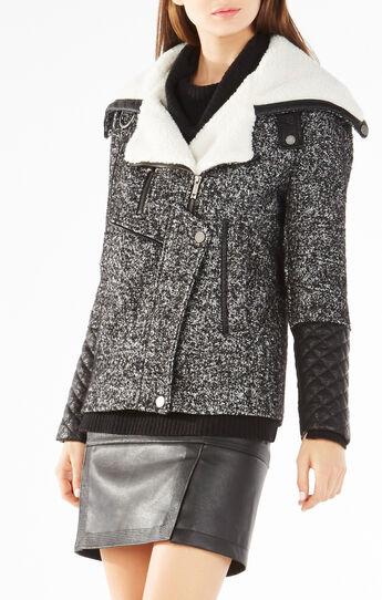 Adelina Faux Shearling Jacket