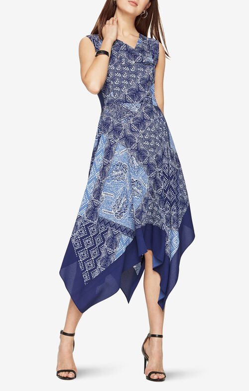 Allsa Batik-Printed Dress