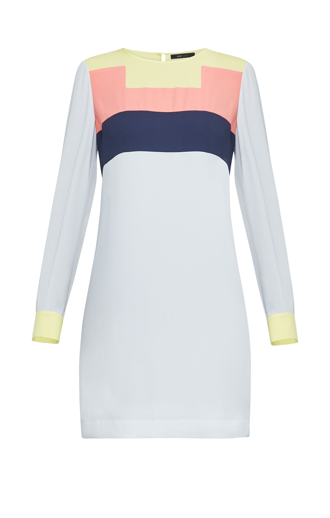 Cally Color-Blocked Dress
