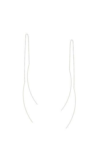 Bar and Chain Earring