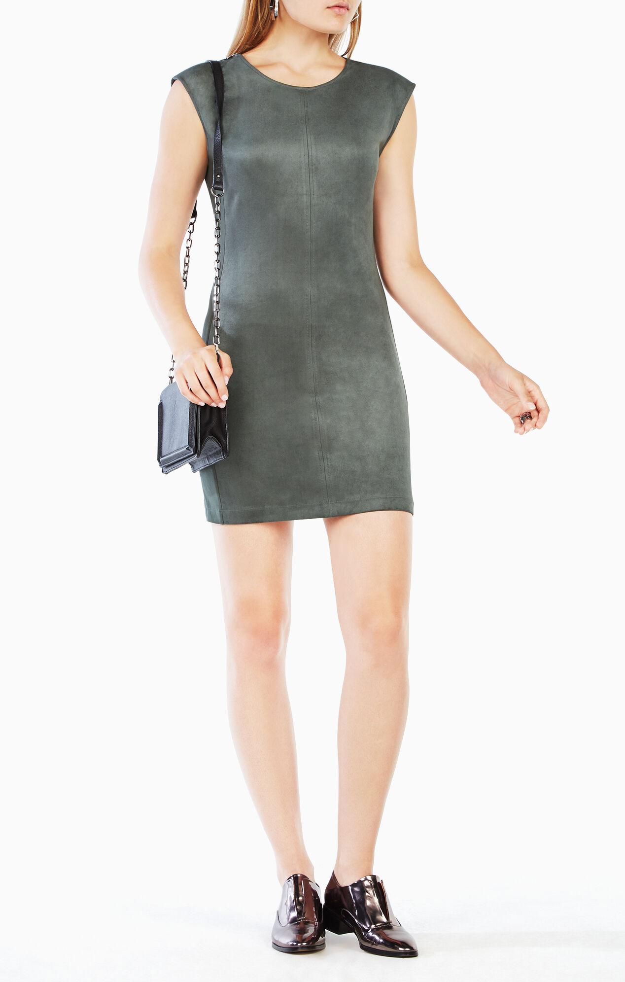 Karlee Faux-Suede Dress