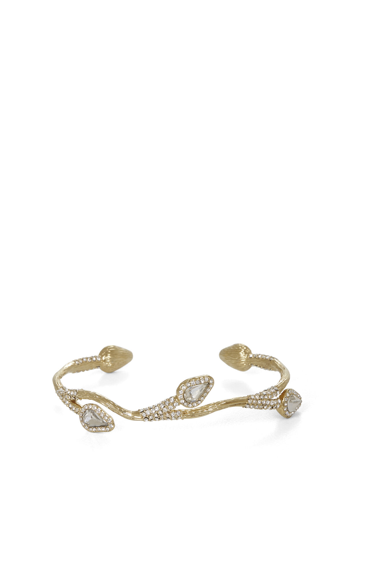 Pave-Encrusted Branch Cuff