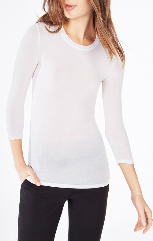 Kali Three-Quarter Sleeve Top