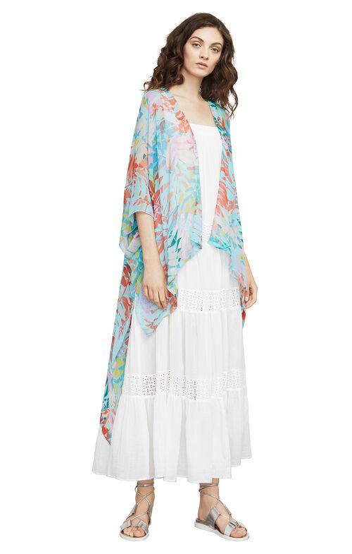 Finnigan Tropical-Print Kimono