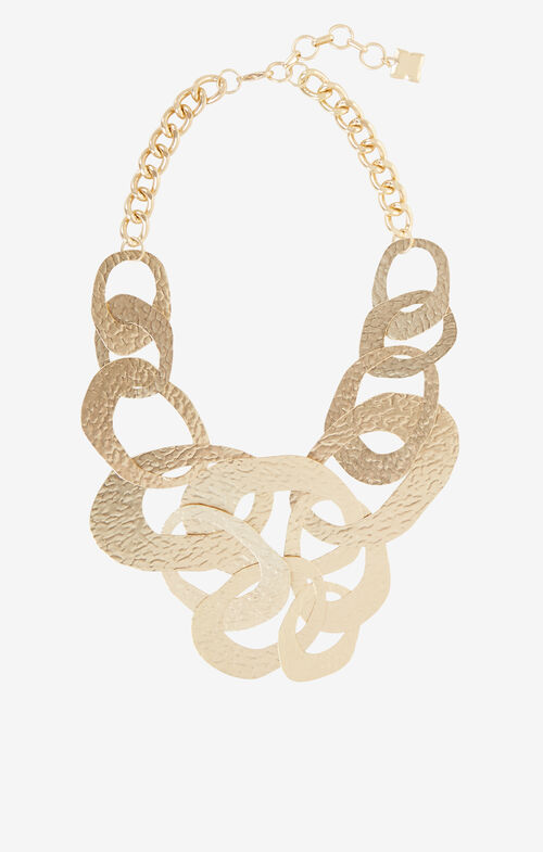 Hammered Geometric Necklace
