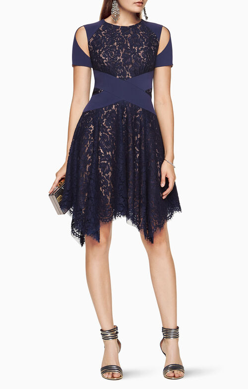 Trish Cutout Lace Dress