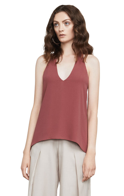 Jazzie Draped Halter Top