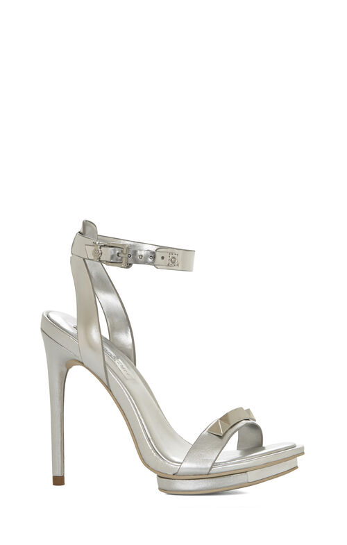 Freesia Studded High-Heel Sandal