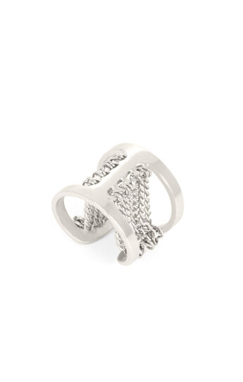 Draped Chain Ring
