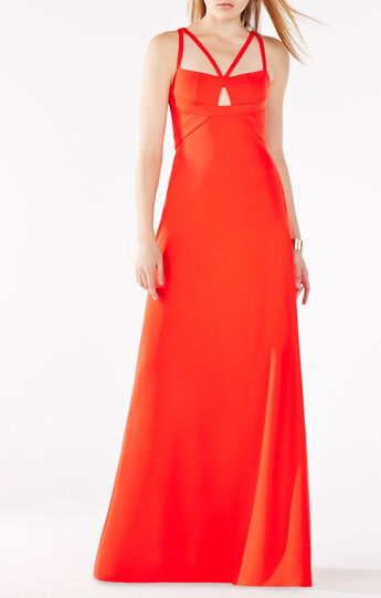 Kelbie Double-Strap Gown