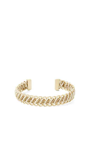 Corded Chain Cuff