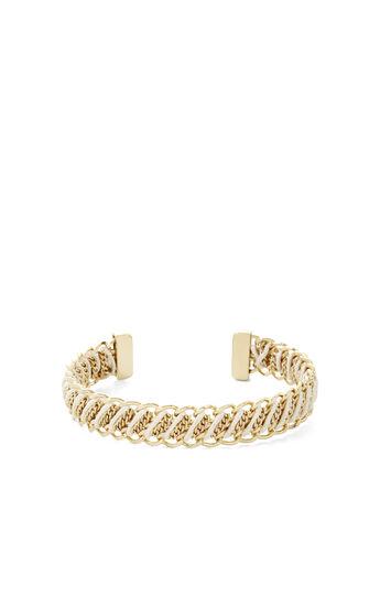 Corded Chain Cuff