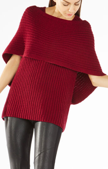 Mariana Draped Wrap Sweater